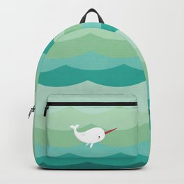 Wendell the Narwhal Backpack