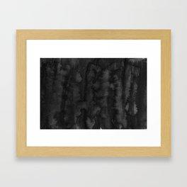 Black Ink Art No 2 Framed Art Print