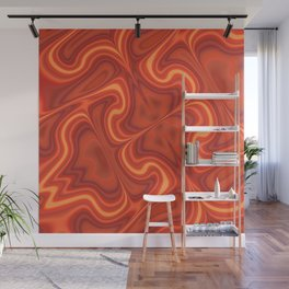 Fiery Fire Wall Mural