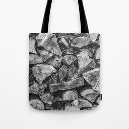 Woodpile | Firewood Stack Tote Bag
