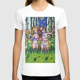 Psychedelic Chicks T-shirt