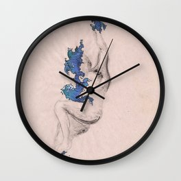 Water Nymph Wall Clock