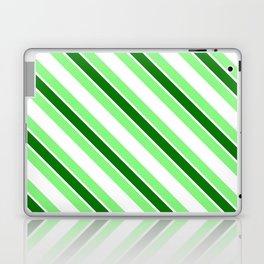 Green stripes Laptop & iPad Skin