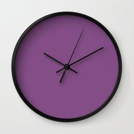 Sweet Vintage Shades of Lavender Tones Wall Clock