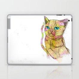 Coloured Cat Laptop & iPad Skin