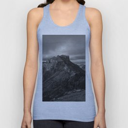 Top of Lost Mine Trail Mountaintop View, Big Bend - Landscape Photography Unisex Tank Top