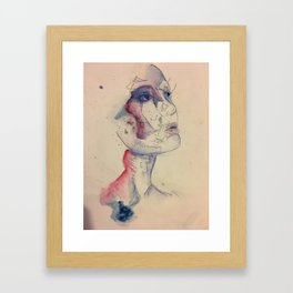 Inked in Place Framed Art Print