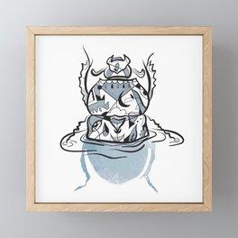 Beetle Framed Mini Art Print