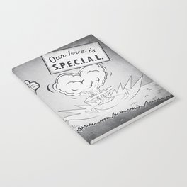 Fallout our love is special Notebook