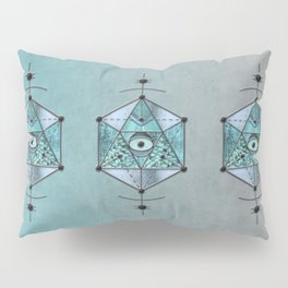 Sacred Geometry Eye Of Protection Pillow Sham