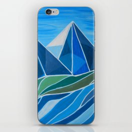 Where the river flows iPhone Skin