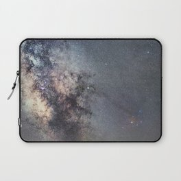 Starry sky with millions of stars, Milky Way galaxy, Antares Region Laptop Sleeve