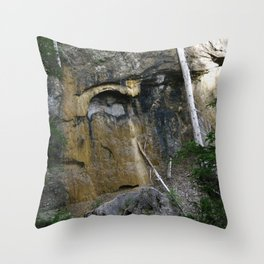 Faces of the Ancients Throw Pillow