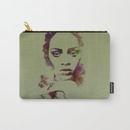RIHANNA Watercolor dig Carry-All Pouch