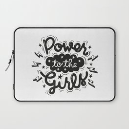 Power to the Girls Laptop Sleeve