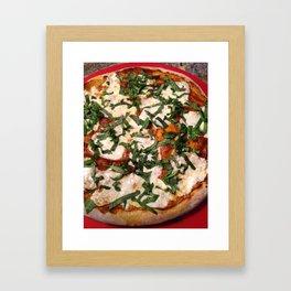 Margherita Pizza Framed Art Print