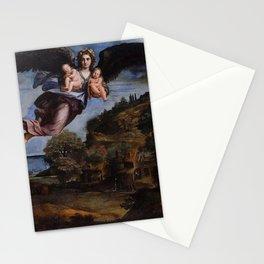Annibale Carracci - La Nuit portant le Sommeil et la Mort Stationery Cards