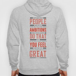 Lab No. 4 Keep Away From People Mark Twain Inspirational Quote Hoody