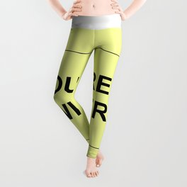 Ticket Yellow Leggings