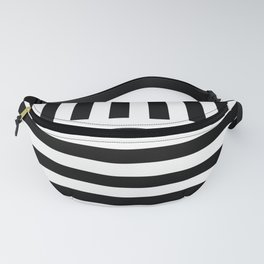 Black and White Fanny Pack
