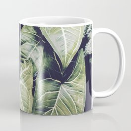 Jungle leaf - vintage Coffee Mug