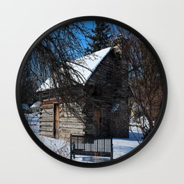 Peter Navarre Cabin IV Wall Clock