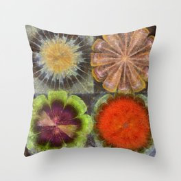 Uniteable Formation Flower  ID:16165-084538-89880 Throw Pillow