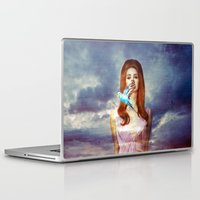 ultraviolence Laptop & iPad Skins featuring I Hear The Birds by Wis Marvin