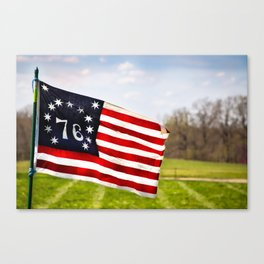 Bennington Flag Canvas Print