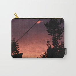 Spring sunset in the city Carry-All Pouch