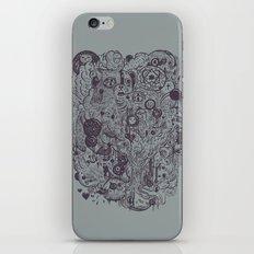 Polyphobic Vomit iPhone & iPod Skin