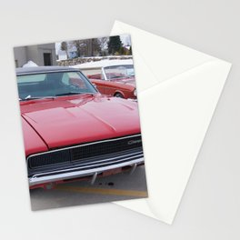 Vintage 1968 Torred MOPAR 426 Hemi Charger Muscle Car Color photography / photographs Stationery Cards