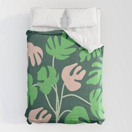 Monstera Pattern Play Comforters