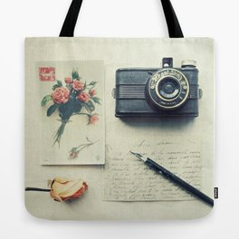 Faded Memories Tote Bag
