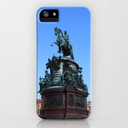 Monument to Nicholas the first. iPhone Case