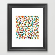 little drops Framed Art Print