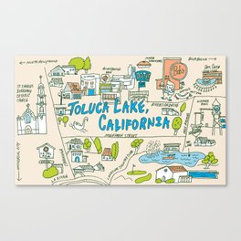 Toluca Lake Canvas Print