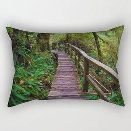 Walks through the Rainforest on Vancouver Island, Canada Rectangular Pillow