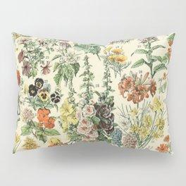 Adolphe Millot Vintage Fleurs Flower 1909 Pillow Sham