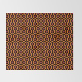 Shining Hotel Carpet Pattern Throw Blanket
