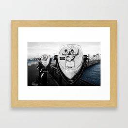 Onlooker. Framed Art Print