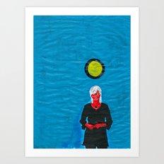 Grip kontanter med begge hender (I) Art Print