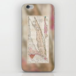 1842 Mather Map of Long Island, New York iPhone Skin