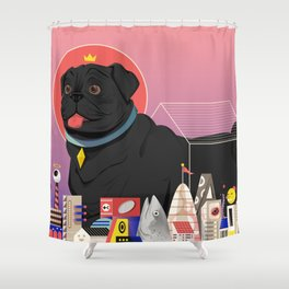 Casa Canis Shower Curtain