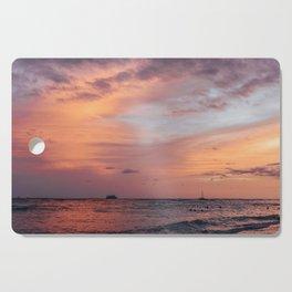Cotten Candy Sunset Cutting Board
