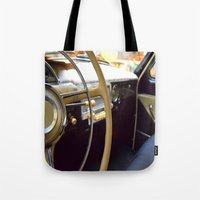 car Tote Bags featuring Car  by Kristina Haritonova