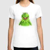 kermit T-shirts featuring Kermit by KitschyPopShop
