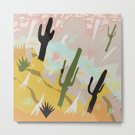 Desert Dream Design Metal Print