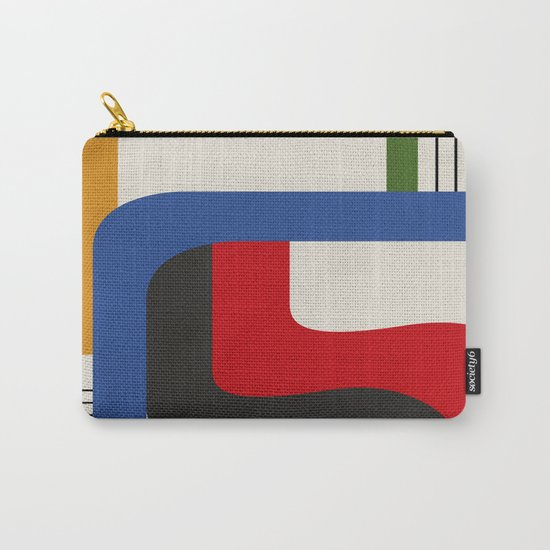 TAKE ME OUT (abstract geometric) Carry-All Pouch