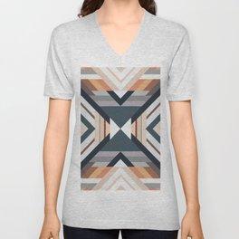 American Native Pattern No. 212 Unisex V-Neck